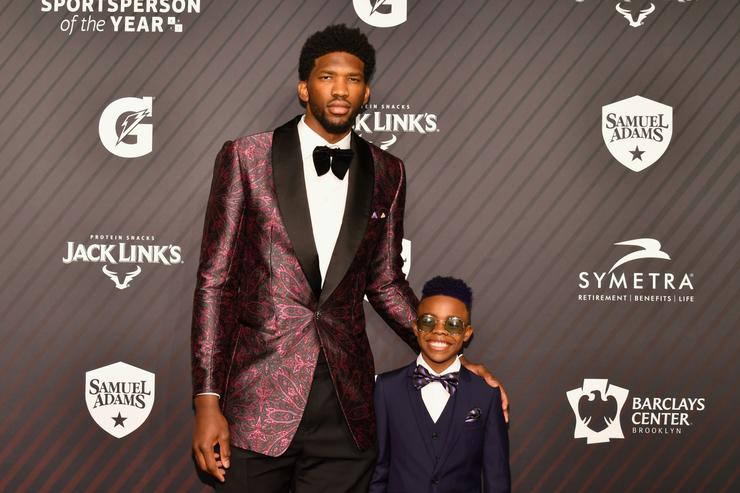 Joel Embiid and Maxwell 'Bunchie' Young attend SPORTS ILLUSTRATED 2017 Sportsperson of the Year Show