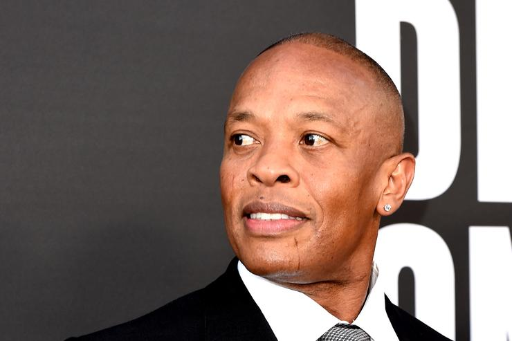 Producer Dr. Dre arrives at the premiere screening of HBO's 'The Defiant Ones' at Paramount Studios on June 22, 2017 in Los Angeles, California