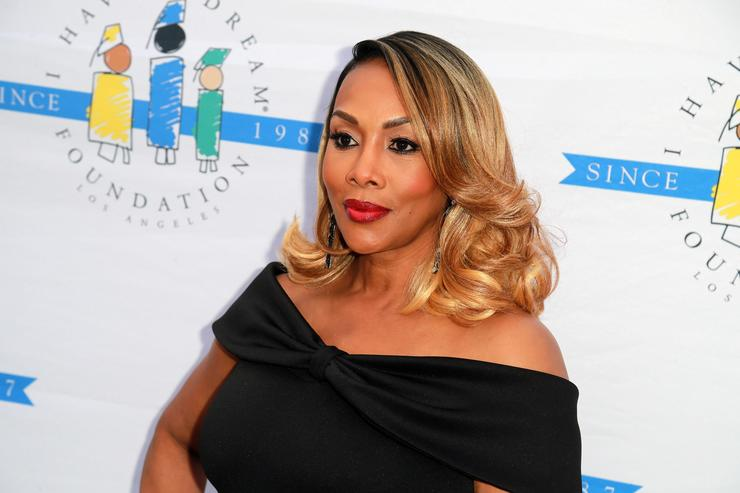 Vivica A. Fox attends the 'I Have A Dream' Foundation's 5th Annual Los Angeles' Dreamer Dinner at Skirball Cultural Center on March 18, 2018 in Los Angeles, California