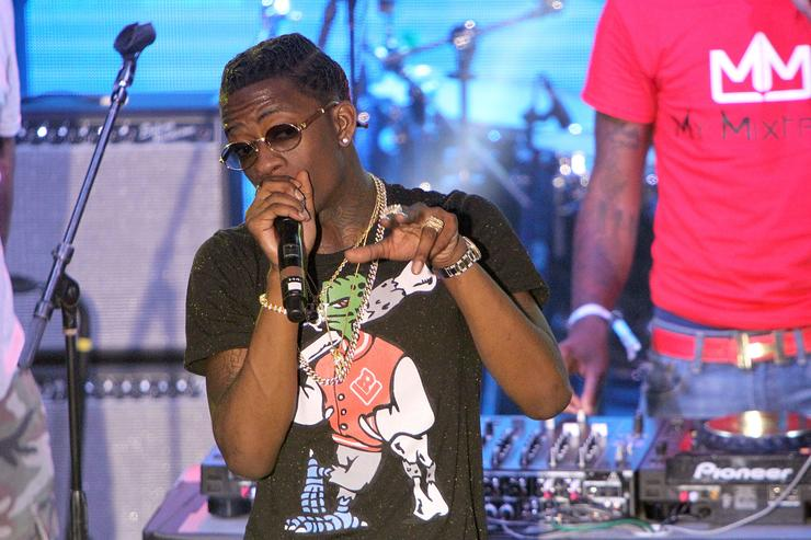 Rich Homie Quan performs onstage during the PANDORA Discovery Den SXSW on March 19, 2015 in Austin, Texas
