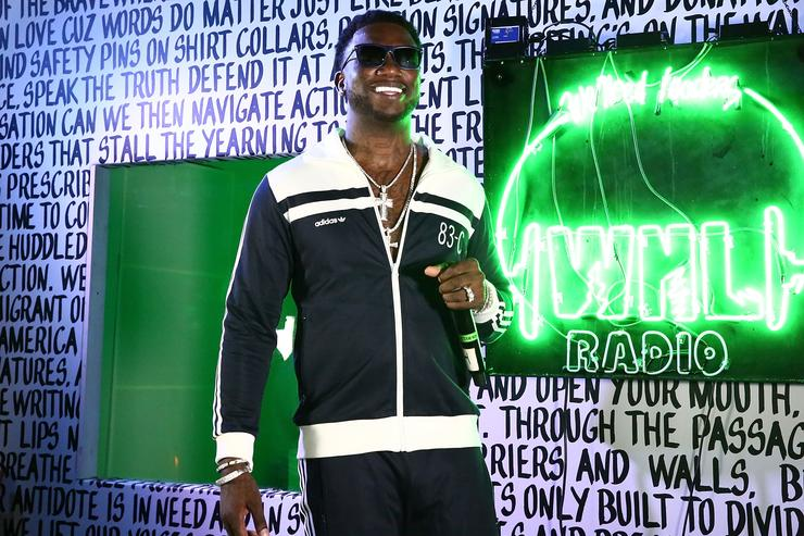Gucci Mane performs at Public School And The Confidante Present WNL Radio at The Confidante on December 2, 2016 in Miami Beach, Florida
