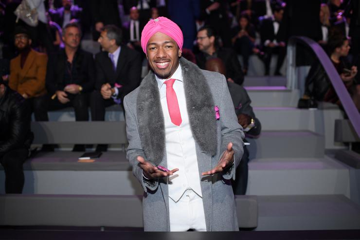 Nick Cannon attends the 2016 Victoria's Secret Fashion Show on November 30, 2016 in Paris, France