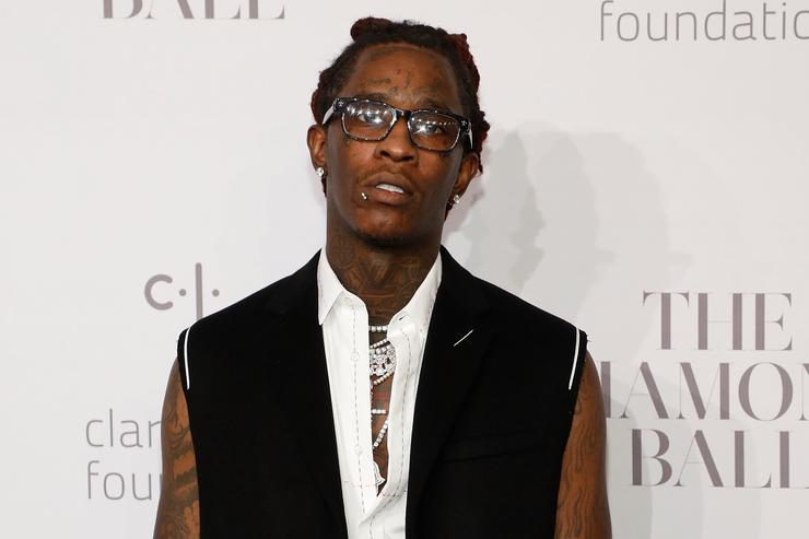 Young Thug attends the 3rd Annual Diamond Ball at Cipriani Wall Street on September 14, 2017 in New York City