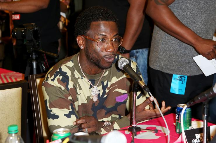 Gucci Mane at day 2 of the Radio Broadcast Center, sponsored by Sprite, during the 2017 BET Awards at Microsoft Square on June 24, 2017 in Los Angeles, California