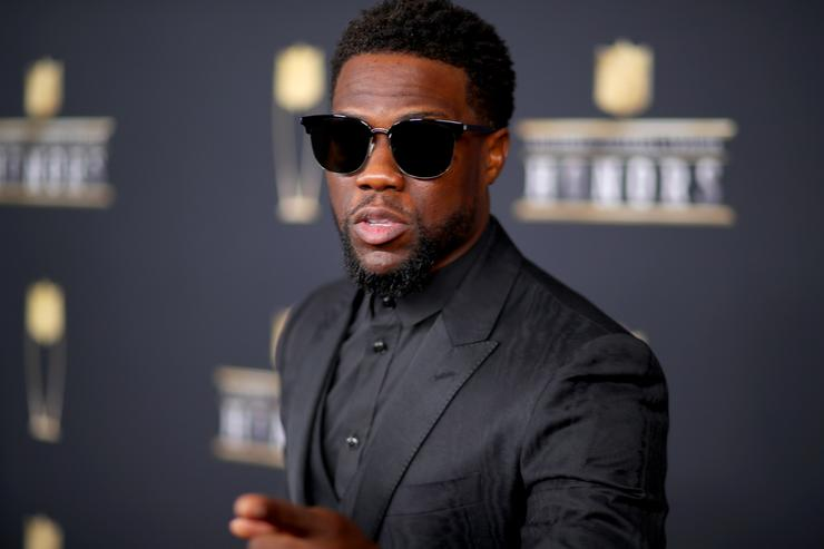 Comedian Kevin Hart attends the NFL Honors at University of Minnesota on February 3, 2018 in Minneapolis, Minnesota.