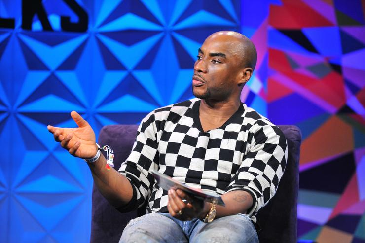 Charlamagne Tha God at day one of Genius Talks, sponsored by AT&T, during the 2017 BET Experience at Los Angeles Convention Center on June 24, 2017 in Los Angeles, California.