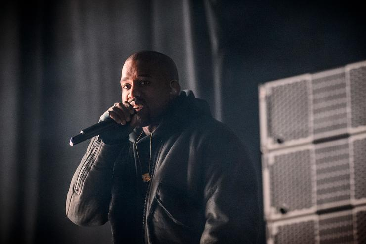 Kanye West performs at Roc city classic: Flatiron District on February 12, 2015 in New York City