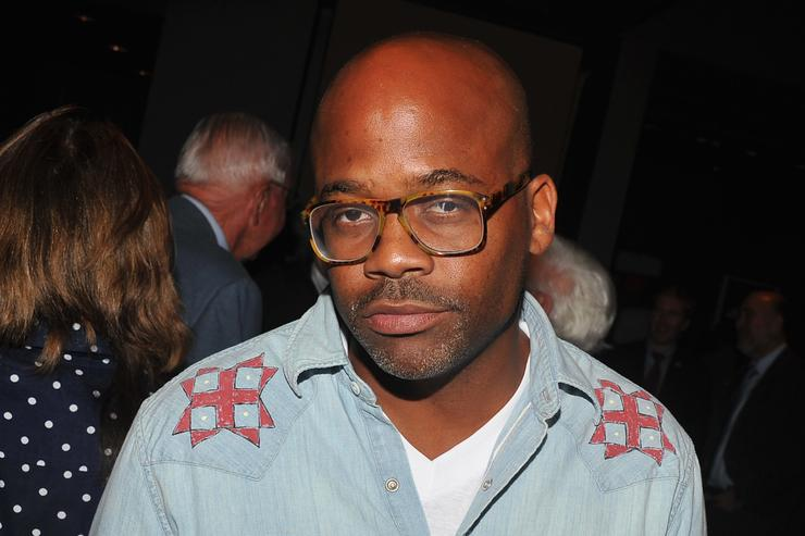 Damon Dash attends 'The Debt' New York screening after party at the Tribeca Grand Hotel on August 22, 2011 in New York City