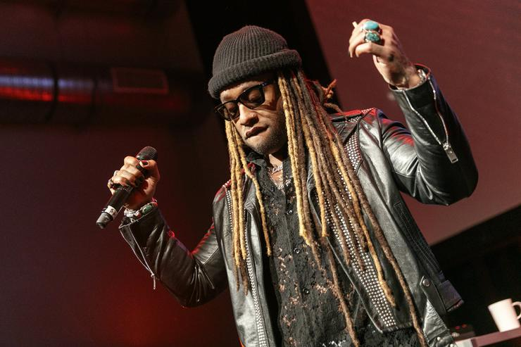Ty Dolla $ign performs on stage at an event where BET NETWORKS Hosts an Exclusive Dinner & Performance for upcoming docuseries 'Death Row Chronicles' about the rise and fall of the world's most dangerous record label at NeueHouse Hollywood on February 15, 2018 in Los Angeles, California.