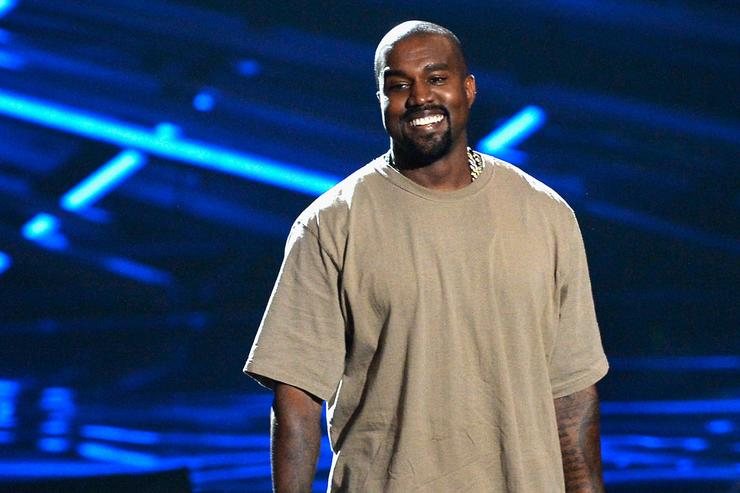 Vanguard Award winner Kanye West speaks onstage during the 2015 MTV Video Music Awards at Microsoft Theater