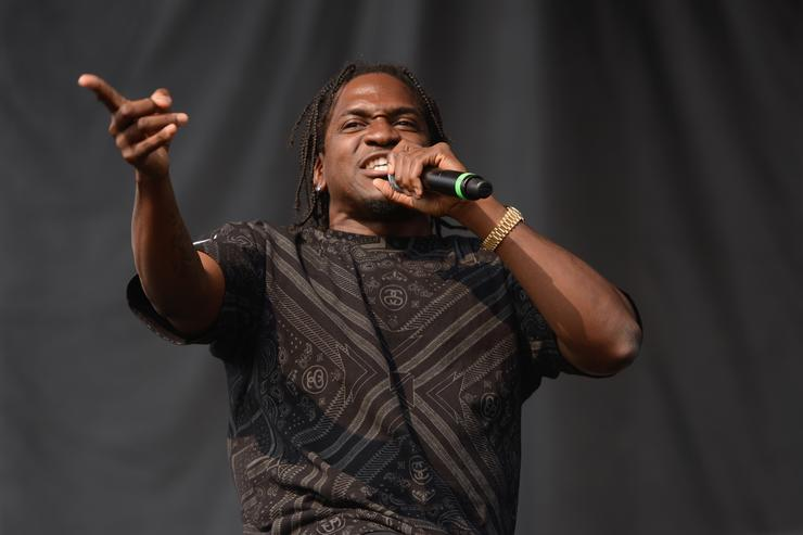 Pusha-T performs during Pitchfork Music Festival at Union Park on July 19, 2014 in Chicago, Illinois