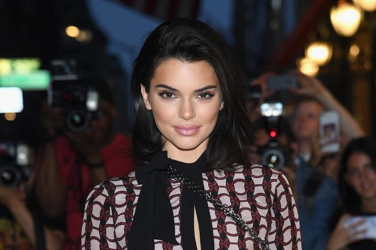 Kendall Jenner attends the opening of the Longchamp Fifth Avenue Flagship at Longchamp