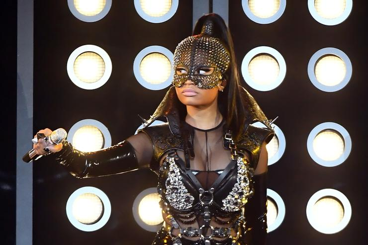 Nicki Minaj performs onstage during the 2017 Billboard Music Awards at T-Mobile Arena on May 21, 2017 in Las Vegas, Nevada
