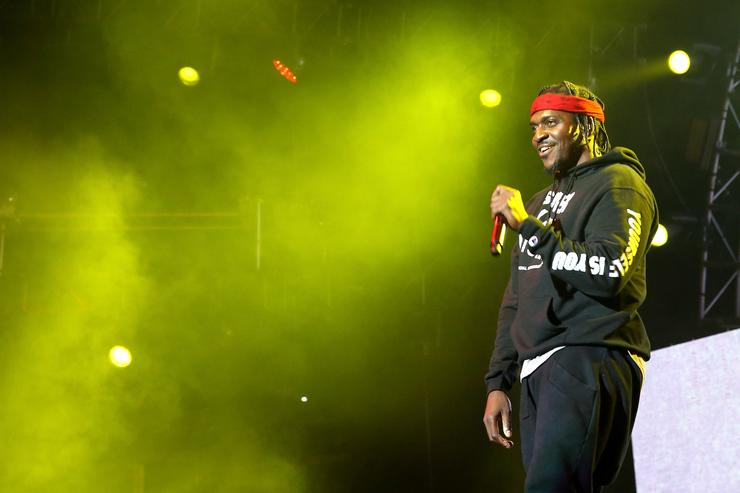 Pusha T performs onstage at night one of the 2017 BET Experience STAPLES Center Concert, sponsored by Hulu, at Staples Center on June 22, 2017 in Los Angeles, California