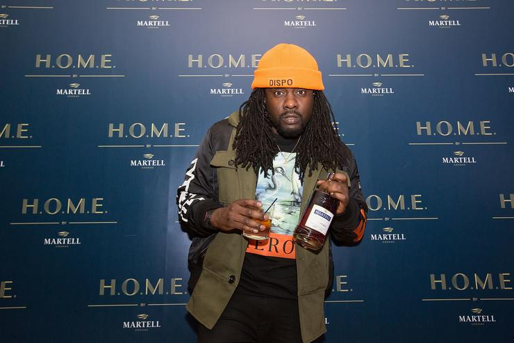 Rapper Wale attends H.O.M.E by Martell, Chicago, on October 26, 2017 in Chicago, Illinois.