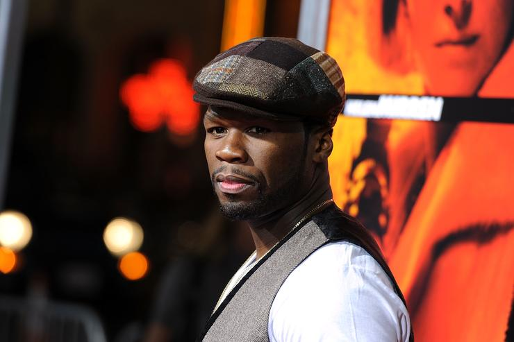 50 Cent arrives at a special screening of Summit Entertainment's 'RED' at Grauman's Chinese Theatre on October 11, 2010 in Hollywood, California