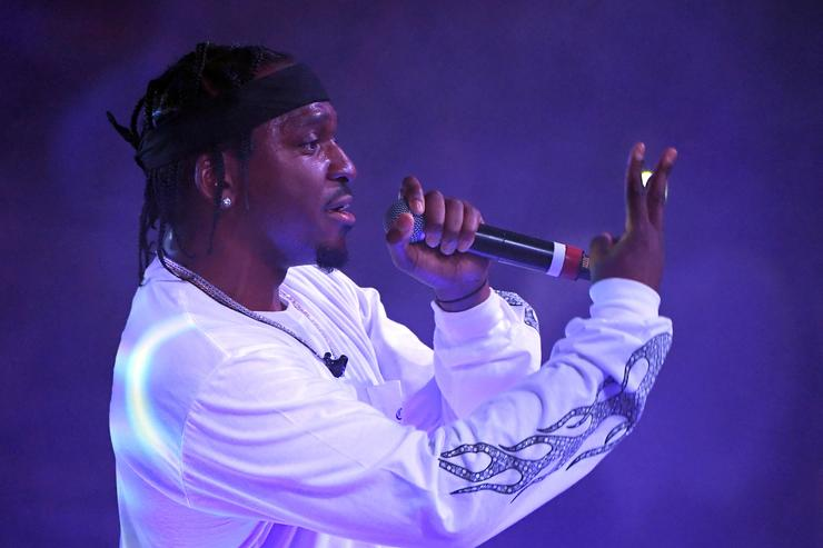 Pusha T performs during the debut of his residency at Drai's Beach Club - Nightclub at The Cromwell Las Vegas on June 16, 2018 in Las Vegas, Nevada