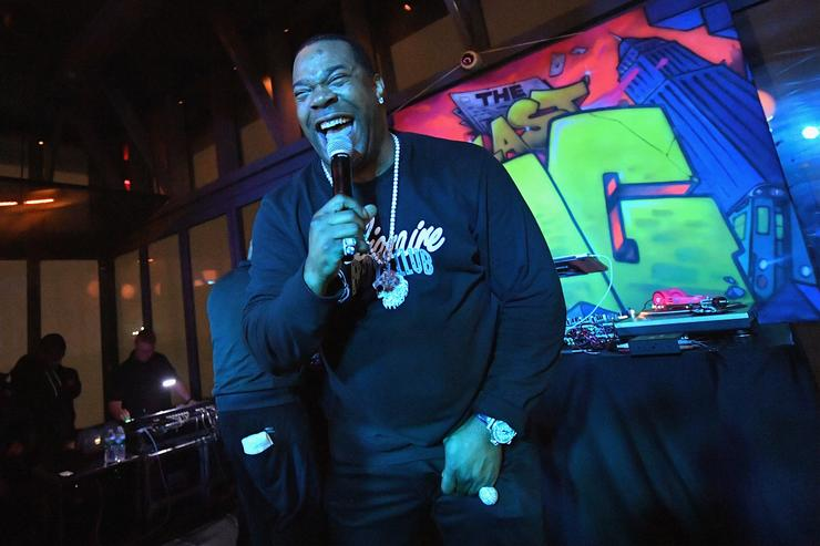 Busta Rhymes performs during TBS' The Last O.G. Premiere at The William Vale on March 29, 2018 in New York City