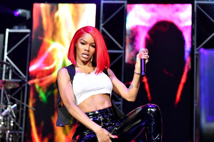 Teyana Taylor performs at 2018 BET Experience Staples Center Concert, sponsored by COCA-COLA, at L.A. Live on June 22, 2018 in Los Angeles, California.