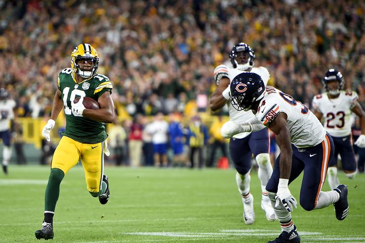 Aaron Rodgers showed again Sunday night just how ridiculously good he is