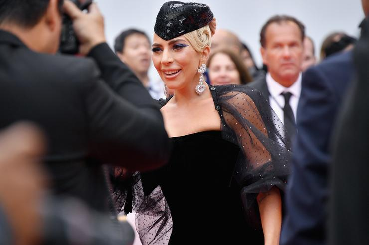 Lady Gaga attends the 'A Star Is Born' premiere during 2018 Toronto International Film Festival at Roy Thomson Hall on September 9, 2018 in Toronto, Canada