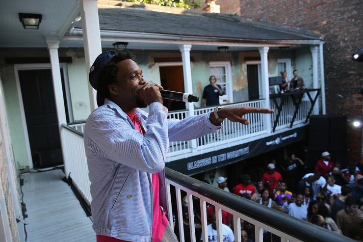Curren$y performs as Reebok Classic and Footaction host a star-studded concert with Cam'ron, Teyana Taylor and Curren$y on February 18, 2017 in New Orleans, Louisiana