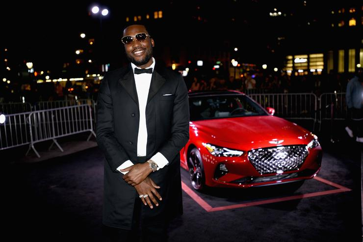 Meek Mill as Harper's BAZAAR Celebrates 'ICONS By Carine Roitfeld' at the Plaza Hotel on September 7, 2018 in New York City