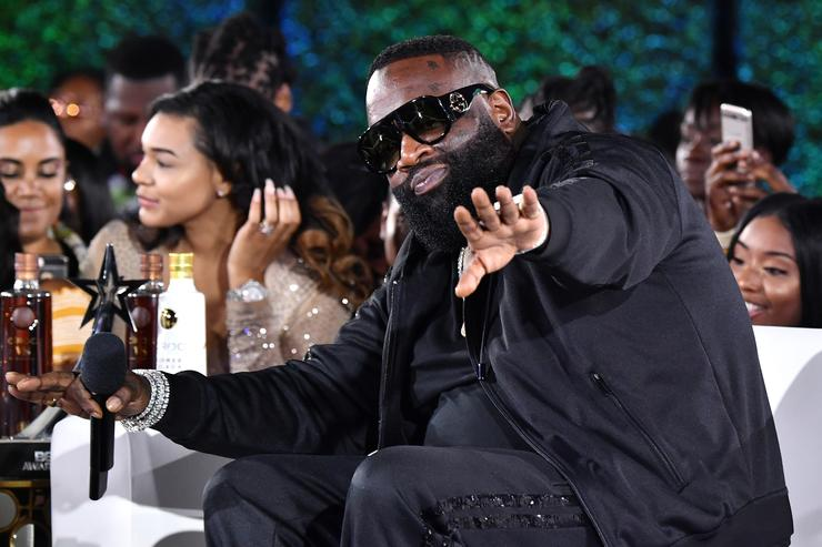Rick Ross attends the After Party Live, sponsored by Ciroc, at the 2018 BET Awards Post Show at Microsoft Theater on June 24, 2018 in Los Angeles, California.
