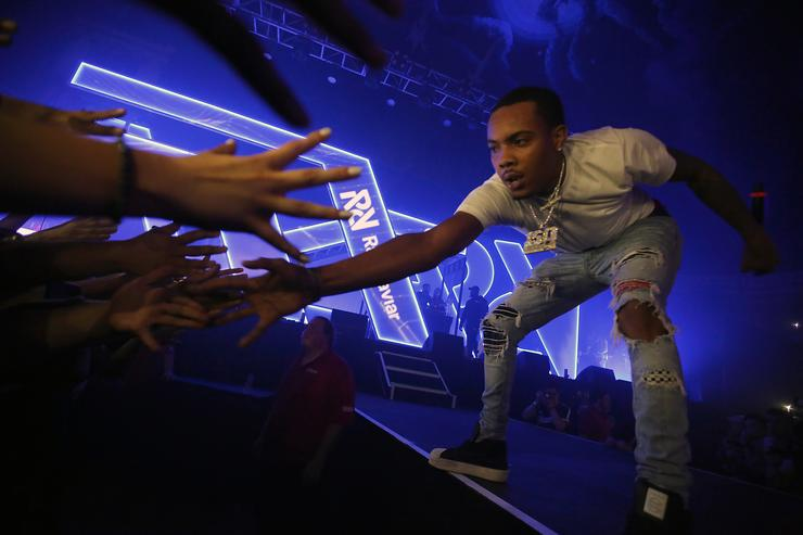 G Herbo performs at Spotify's RapCaviar Live in Chicago at Aragon Ballroom on October 20, 2017 in Chicago, Illinois