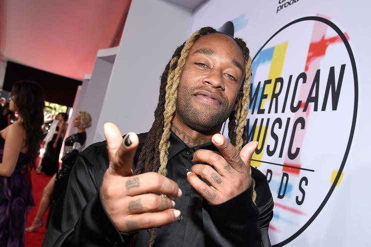 Ty Dolla Sign attends the 2018 American Music Awards at Microsoft Theater on October 9, 2018 in Los Angeles, California