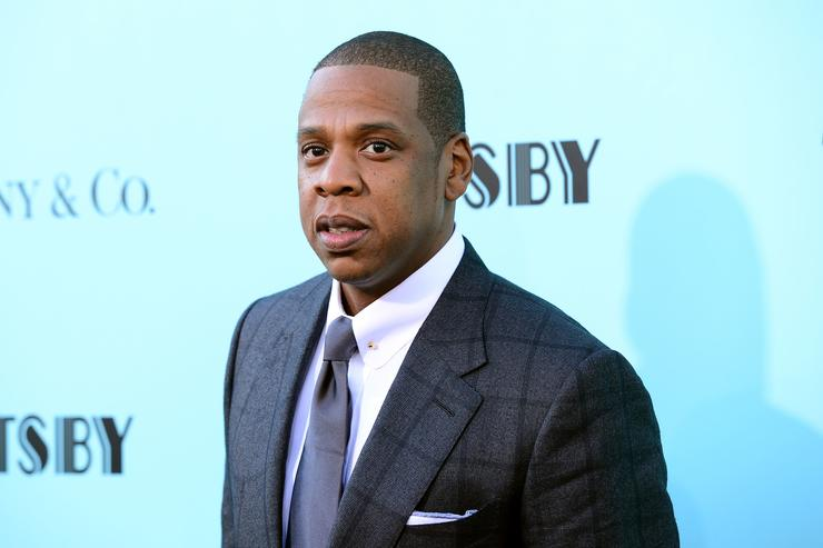 Jay-Z attends the 'The Great Gatsby' world premiere at Avery Fisher Hall at Lincoln Center for the Performing Arts on May 1, 2013 in New York City