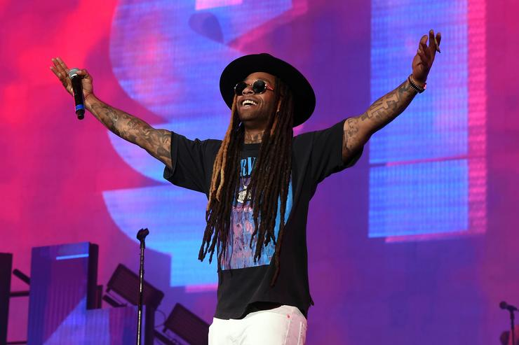 Ty Dolla Sign performs on the Coachella Stage during day 2 of the Coachella Valley Music And Arts Festival (Weekend 1) at the Empire Polo Club on April 15, 2017 in Indio, California