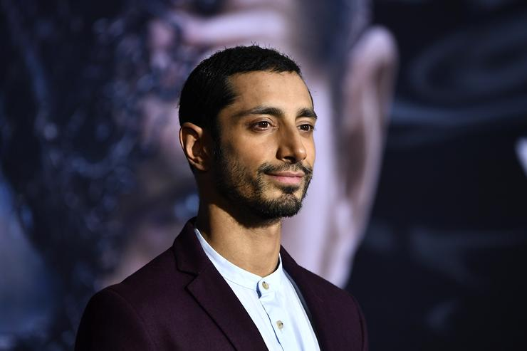 Riz Ahmed attends the Premiere Of Columbia Pictures' 'Venom' at Regency Village Theatre on October 1, 2018 in Westwood, California