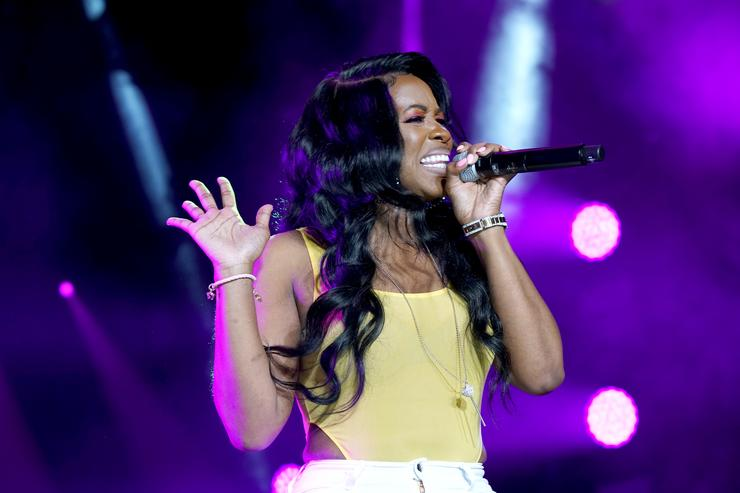 Remy Ma performs onstage during the 2018 Essence Festival presented By Coca-Cola - Day 2 at Louisiana Superdome on July 7, 2018 in New Orleans, Louisiana