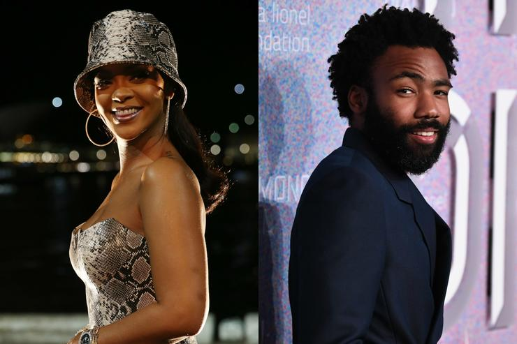 Clip of secret Donald Glover, Rihanna film revealed