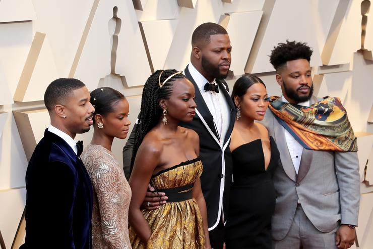Black Panther Wins Marvel Studios' First Oscars Ever