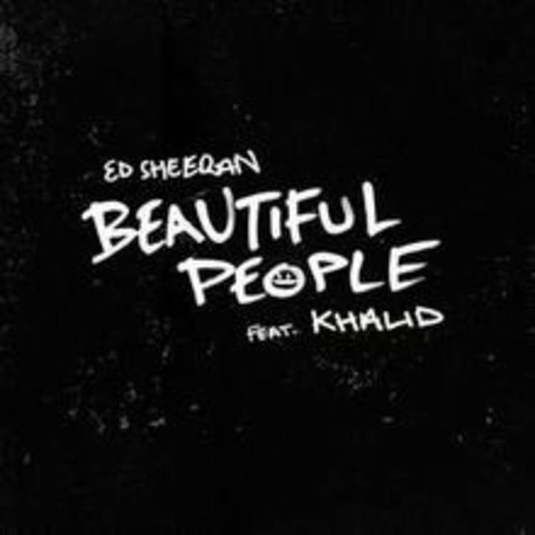 Image result for beautiful people ed sheeran album art